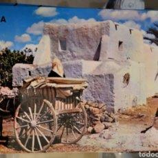 Postales: IBIZA (BALEARES) CONSTRUCCIÓN Y VEHÍCULOS TÍPICOS KOLORHAM, LIBRERÍA VERDERA MONTGIL 7 IBIZA. Lote 289773828