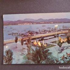 Postales: LOTE AB BALEARES POSTAL SAN ANTONIO IBIZA PASEO DE LAS FUENTES CASA FIGUERETAS. Lote 289843658