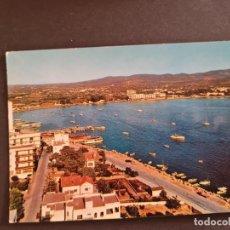 Postales: LOTE AB BALEARES POSTAL SAN ANTONIO ABAD INTERIOR DE LA BAHIA CASA FIGUERETAS. Lote 289845623