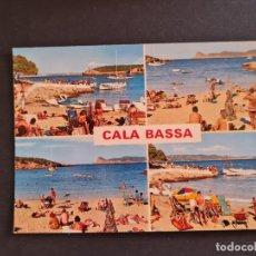 Postales: LOTE AB BALEARES POSTAL SAN ANTONIO ABAD CALA BASSA. Lote 289846048