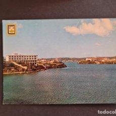 Postales: LOTE AB BALEARES POSTAL ISLA DE MENORCA HOTEL CARLOS III PUERTO DE MAHON SUBIRATS. Lote 289848888