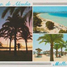 Postales: PUERTO DE ALCUDIA. MALLORCA. Lote 289899368