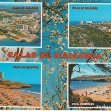 Postales: (687) MALLORCA. CALAS DE MALLORCA. Lote 289900783