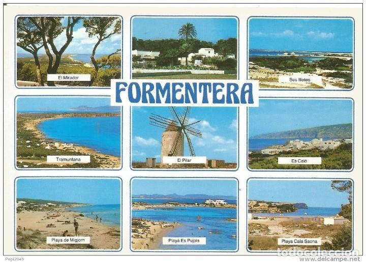 *** PR896 - POSTAL - FORMENTERA - VARIAS VISTAS (Postales - España - Baleares Moderna (desde 1.940))