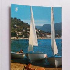 Postales: POSTAL - MALLORCA - PUERTO DE SOLLRE - PLAYA. Lote 293877543