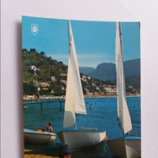 Postales: POSTAL - MALLORCA - PUERTO DE SOLLRE - PLAYA. Lote 293877648