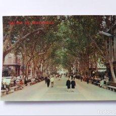 Postales: POSTAL - PALMA DE MALLORCA - PASEO DEL GENERALISIMO - BORNE. Lote 293878673