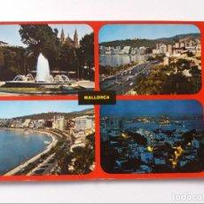 Postales: POSTAL - PALMA DE MALLORCA -PASEO MARITIMO 146. Lote 293879688