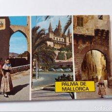 Postales: POSTAL - PALMA DE MALLORCA - DIVERSOS ASPECTOS. Lote 293879888