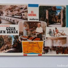 Postales: POSTAL - MALLORCA - EL ARENAL - CAFETERIA COVA CAN DENIX - CAMINO MONTAÑA. Lote 293883458
