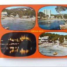 Postales: POSTAL - MALLORCA - PORTALS NOUS - PLAYAS DE PORTALS NOUS. Lote 293913363