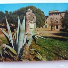 Postales: POSTAL - MALLORCA - BALEARES - SANTUARIO DE LLUC -MISTERIOS DEL ROSARIO -1. Lote 293913763