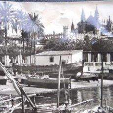 Postales: PALMA DE MALLORCA. RINCÓN DEL PUERTO. ZERKOWITZ. NUEVA. BLANCO/NEGRO. VER FOTO POR ROTURA PARTE INFE. Lote 297095393