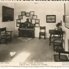 Postales: POSTAL VALLDEMOSA (MALLORCA) - CARTUJA, CELDA DE CHOPIN - EXCL. ANTONIO VICH - NUEVA. Lote 297104743