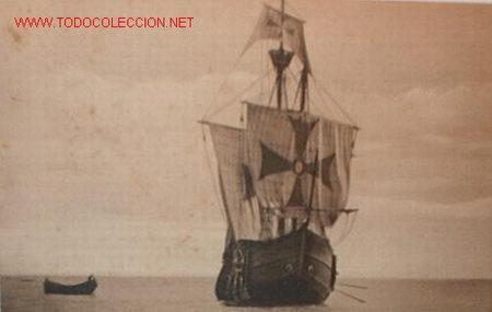 POSTAL CARABELA SANTA MARÍA (Postales - Postales Temáticas - Barcos)