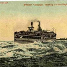 Postales: POSTAL BARCO STEMER EMPRESS , MONTREAL. Lote 23781856