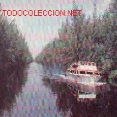 Postales: 7-BARCO4. CUBA. CANAL DE ENTRADA LAGUNA DEL TESORO.. Lote 903850