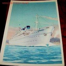 Postales: ANTIGUA POSTAL DE EL BARCO ITALIANO SURRIENTO. Lote 68122