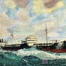 Postales: POSTAL DE BARCO S.S.BRADFORD ISLAND. Lote 3314708