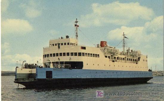A1381D CANADA FERRY SHIP BARCO BATEAU (Postales - Postales Temáticas - Barcos)