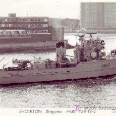 Postales: POSTAL FOTOGRAFICA DE BARCO -SHOULTON HMS. Lote 24676906