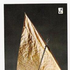 Postales: POSTALES NUEVAS DE BARCOS DE LA COLECCIÓN HISTORIA DEL MAR - SERIE 1ª, Nº 5, ESCUDO DE ORO. Lote 4303875