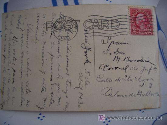 Postales: FOTO POSTAL CIRCULADA 1930 BARCO TRANSATLANTICO NORDDEUTSCHER LLOYD DAMPFER BREMEN 1 - Foto 4 - 10352852