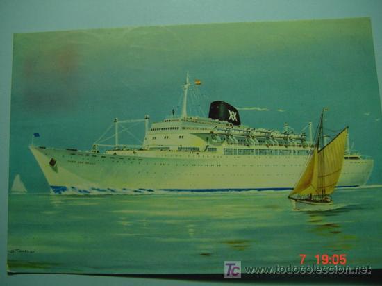 6639 BARCO CABO SAN ROQUE SAN VICENTE -MIRA MAS EN MI TIENDA TC COSAS&CURIOSAS (Postales - Postales Temáticas - Barcos)