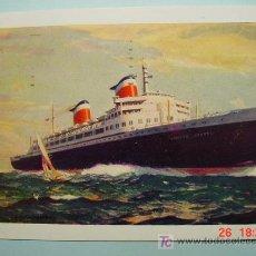 Postales: 7339 USA ESTADOS UNIDOS BARCO SHIP - MAS POSTALES DE ESTE TEMA EN TIENDA COSAS&CURIOSAS. Lote 4623426