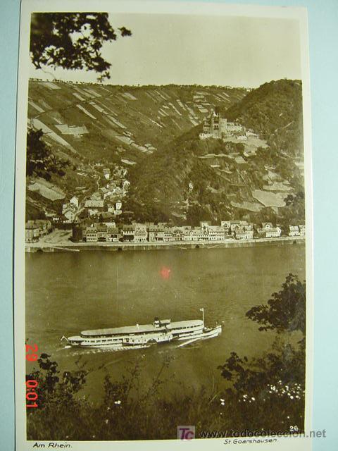 7354 BARCO SHIP ALEMANIA GERMANY - MAS DE ESTE TIPO EN MI TIENDA COSAS&CURIOSAS (Postales - Postales Temáticas - Barcos)