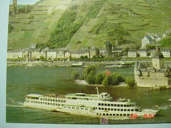 7353 BARCO SHIP ALEMANIA GERMANY - MAS DE ESTE TIPO EN MI TIENDA COSAS&CURIOSAS (Postales - Postales Temáticas - Barcos)