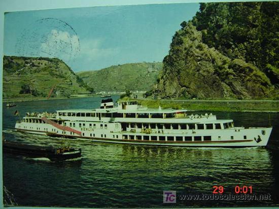 7350 BARCO SHIP ALEMANIA GERMANY - MAS DE ESTE TIPO EN MI TIENDA COSAS&CURIOSAS (Postales - Postales Temáticas - Barcos)