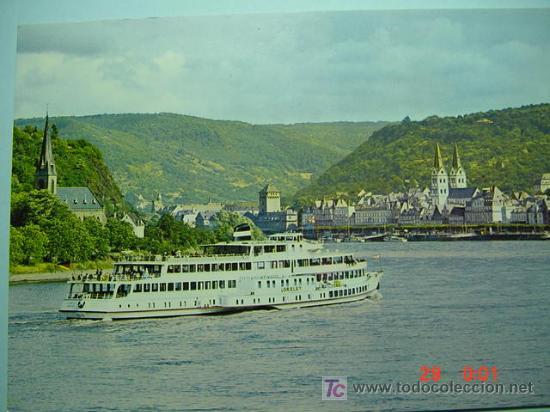7348 BARCO SHIP ALEMANIA GERMANY - MAS DE ESTE TIPO EN MI TIENDA COSAS&CURIOSAS (Postales - Postales Temáticas - Barcos)