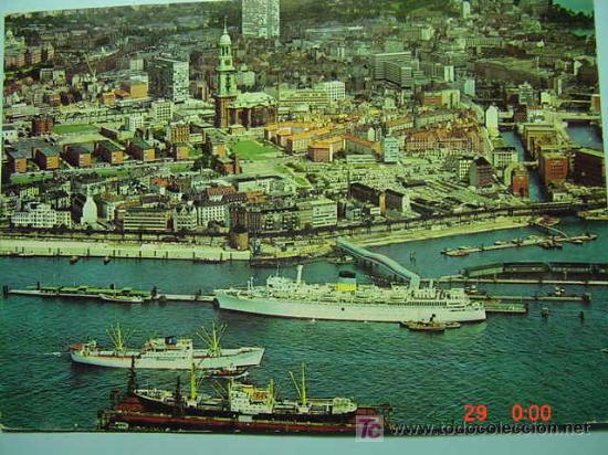 7345 BARCO SHIP ALEMANIA GERMANY - MAS DE ESTE TIPO EN MI TIENDA COSAS&CURIOSAS (Postales - Postales Temáticas - Barcos)