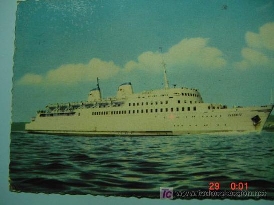 7349 BARCO SHIP ALEMANIA GERMANY - MAS DE ESTE TIPO EN MI TIENDA COSAS&CURIOSAS (Postales - Postales Temáticas - Barcos)