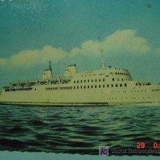 Postales: 7349 BARCO SHIP ALEMANIA GERMANY - MAS DE ESTE TIPO EN MI TIENDA COSAS&CURIOSAS. Lote 4669654