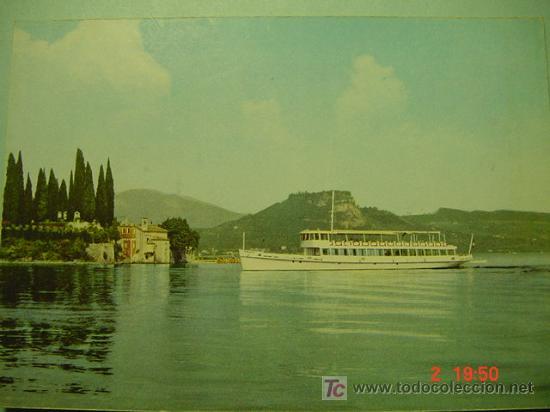 7653 BARCO SHIP ITALIA ITALY - MAS DE ESTE TEMA EN MI TIENDA COSAS&CURIOSAS (Postales - Postales Temáticas - Barcos)