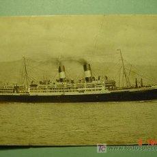 Postales: 7654 BARCO SHIP ITALIA ITALY - MAS DE ESTE TEMA EN MI TIENDA COSAS&CURIOSAS. Lote 4677487