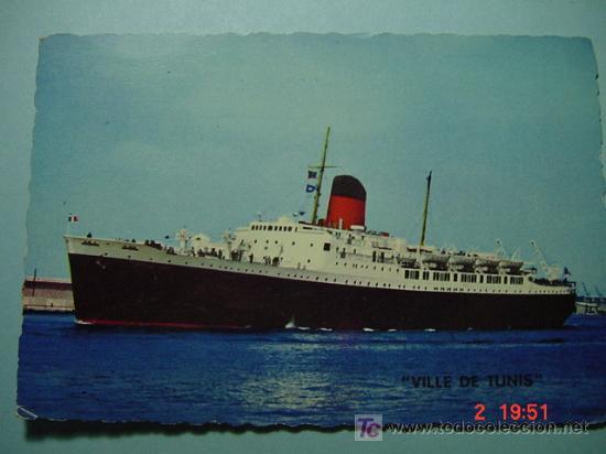 7658 BARCO SHIP FRANCIA FRANCE - MAS DE ESTE TEMA EN MI TIENDA COSAS&CURIOSAS (Postales - Postales Temáticas - Barcos)