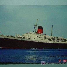 Postales: 7658 BARCO SHIP FRANCIA FRANCE - MAS DE ESTE TEMA EN MI TIENDA COSAS&CURIOSAS. Lote 4677520