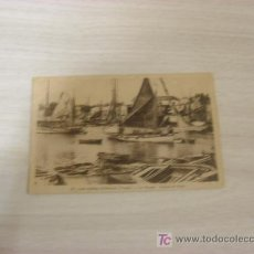 Postales: LES SABLES D OLONNE VENDEE LA CHAUME BATEAUX DE PECHE. Lote 9051035