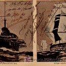 Postales: BARCOS. EL PARÍS DEL AÑO 1914. EL PARÍS DE 1851. . Lote 5363804