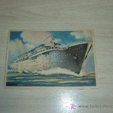 Postales: LUCANIA LINEA RAPIDA PER IL VENEZUELA E CENTRO AMERICA. Lote 11086966
