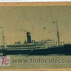 Postales: TRANSATLANTICO ALFONSO XIII COMPAÑIA TRANSATLANTICA ESPAÑOLA CIRCULADA. Lote 5837958