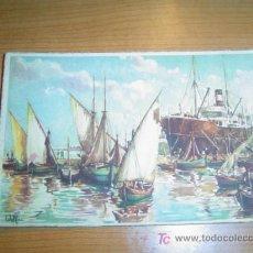 Postales: POSTAL BARCOS CIRCULADA. Lote 5926325