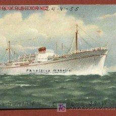 Postales: M/N FRANCESCO MOROSINI, DE LA NAVIERA ITALIANA SIDARMA, TRASATLÁNTICO. Lote 26758464