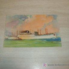 Postales: IBARRA Y CIA SA LINEAS MEDITERRANEO BRASIL PLATA,CABO DE BUENA ESPERANZA CABO DE HORNOS,SEIX BARRAL. Lote 8504039