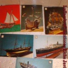 Postales: LOTE DE POSTALES DE BARCOS, .. Lote 7155520