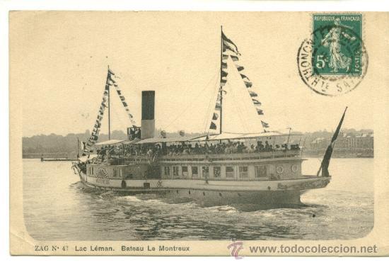 POSTAL, TEMA BARCOS (Postales - Postales Temáticas - Barcos)