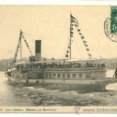 Postales: POSTAL, TEMA BARCOS. Lote 8096519